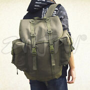 High Quality The Cold War West German Army Canvas Backpack Military Rucksack