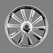 Renegade Winslow Chrome 21 Wheels Package Set Tires Harley Flh/t 09-18