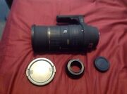 Sigma Ex Hsm 50-500mm F4-6.3 Lens Sigma Sa Mount - Includes Sa To M4/3 Adapter