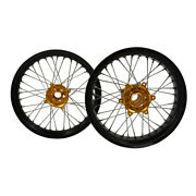 173.5/175.0complete Alloy Wheels For Ktm Exc250/300/500 Super Sport Motorcycle