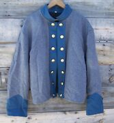 Civil War Confederate Reenactor Officers Double Breasted Shell Jacket 52