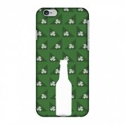 Amzer Snap On Case Beer And Pattern W/ Shemrock Green Hard Protector Phone Cover