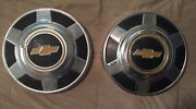 Chevy Pick Up Truck 1973-1987 16 Dog Dish Hubcaps Pair