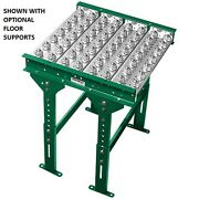 New 5and039 Ball Transfer Conveyor Table 36 Bf 60l 4 Ball Centers