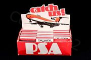 Psa Vintage Pacific Southwest Airlines Matchbook Box Collectable Cut Safe Gift