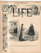 1900 Life August 30 - Teddy Wants It All Golf - The American Game Jack Russell