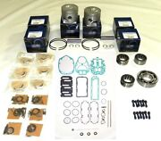 Mercury 115-175 Hp 2.5l Optimax Rebuild Kit - 100-28-12 - .020 Over Size Only