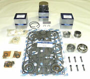 Mercury 75 / 90 Hp 3 Cyl Top Guided Rebuild Kit - .015 Size Only 100-35-115