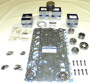 Mercury 100/ 115 Hp 92-93 4 Cyl Top Guided Rebuild Kit -.010 Size - 100-35-21