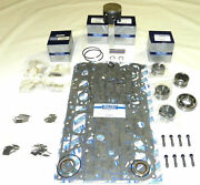 Mercury 100/ 115 Hp 92-93 4 Cyl Top Guided Rebuild Kit -.015 Size - 100-35-215