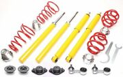Ta Technix Sport Suspension Coilover Lowering Kit Rods Coupling For Bmw E30 45mm