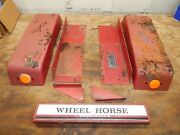 Wheel Horse D-160 Garden Tractor Rear Fender Assembly-used