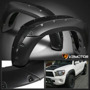 For 2005-2011 Toyota Tacoma 6and039 Pocket Style Bolt On Rivet Fender Flares Smooth