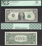 1 1969-a Frn=mismatch Serial=42/32=rare Only 10 Kknown=error=pcgs Very Fine 35