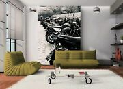 3d Vintage Moto Art 892 Wallpaper Mural Wall Print Wall Wallpaper Murals Us
