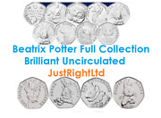 Beatrix Potter Coins Collection Full Range 2016 2017 2018 Bu Coins And Albums