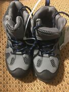 Itasca Hiking Shoes For Boy Scout Size 2.0 New 4547521 Jackson Boy Gray Shoes
