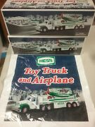 Hess Toy Truck, 2002 Truck Carrier With Biplane