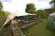 Waterproof Commercial Wedding Event Yard Lawn Patio Bedouin Stretch Tent New