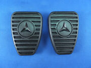 Mercedes 1949 Up To 1957 All Models Pedal Pad With Star Pair