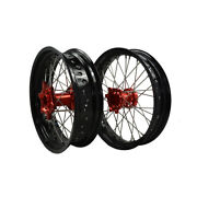 Honda Cr125 Cr250 17 Inch Wheels With Rim Spokes And Hubs Nipples For Motocross