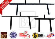 Heavy Duty Long Concealed Invisible Hidden Floating Shelf Brackets With Back Rod
