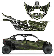 Can Am X3 Maverick Mac 4 Traditio Design Decal Graphic Kit Wraps Decals Off Road