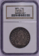 Ngc Graded 1805 Bust Half Dollar Us Silver Coin Xf45  Free Shipping