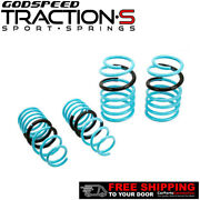 Godspeed Project Traction-s Lowering Springs For Porsche Boxster 981 12-16