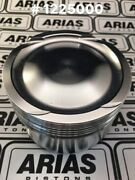 Arias 3.631 9.01 Dish Top Pistons For 2011-2017 Ford Mustang 5.0l 302 Boss