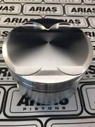 Arias 3.640 13.01 Dome Top Pistons For 2011-2017 Ford Mustang 5.0l 302 Boss