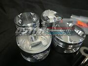 Arias 86mm 8.81 Pistons For 95-99 Eclipse And 95-98 Talon 2.0l 4g63