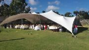 Waterproof Commercial Wedding Event Stage Patio Beach Yard Bedouin Stretch Tent
