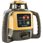 Topcon Rl-h5a Self-leveling Laser Level With Rechargeable Battery And Ls-80l ...