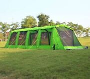 Waterproof 15-25 Person Screened In Porch Canopy Awning Gazebo Tunnel Tent Huge
