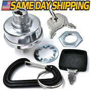 Starter Ignition Switch Dixie Chopper 20245 W/ 3 Keys Carabiner And Key Upgrade