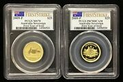 2009-p Australia Gold Sovereign First Year Of Issue - Pcgs Pr70 Dcam And Ms70