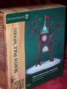 Dept 56 Welcome To North Pole Woods Gateway Entrance, Nib