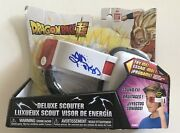 Ryo Horikawa Signed Dragon Ball Super Deluxe Scouter Jsa It's Over 9000 Jsa