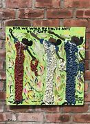 Florida Visionary Artist Mary L Proctor Painting. We Walk By Faith Not By Sight