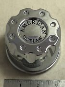 One American Outlaw Wheels Rim 2 Piece Hub Cover Chrome Center Cap Bc-668 A And Z