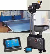 Ping Pong Balls Picker Table Tennis Robot Auto Ball Training Machine New 989h Is