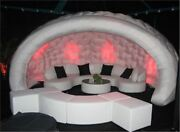 Hot Sale Inflatable Bar Tent With Led Light And Blower Xw