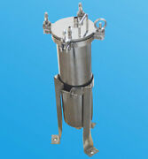 Bag Filter Housing 304 Stainless Steel 1 In/out 150 Psi Flat Plate Kitchen