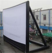 97m Giant Inflatable Movie Screen Outdoor Inflatable Screen With Blower Cx