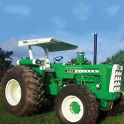 Tractor Canopy And Support Frame - Metal Fwa And Regular Fenders 50 Compatible Wit