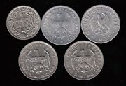 Lot Of 5 Germany Coins From The 1920and039s And 30and039s