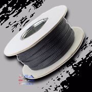 2 100ft Expandable Braided Conduit Wire Cable Weave Sleeve Hose Cover Tube Usa
