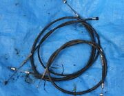 1982 Suzuki Rm 125 Oem Cable's Set //free Shipping//