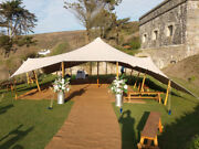 Waterproof Commercial Wedding Event Concert Stage Pool Yard Bedouin Stretch Tent
